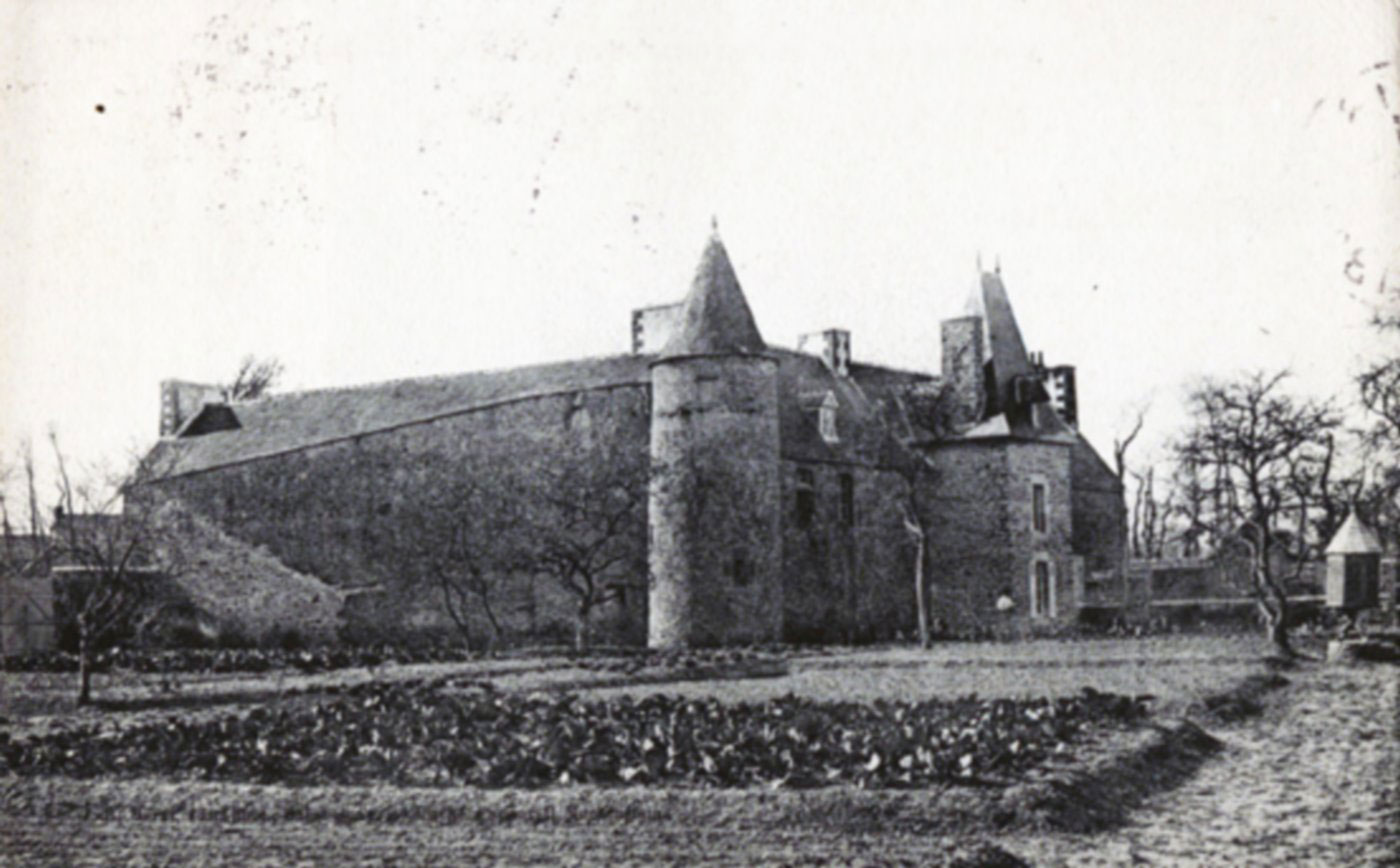 Photo d'archive d'un manoir